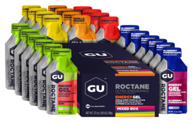Top Seller: GU Assorted Mixed Roctane Gel Box - Box of 24 - 26% Off !!!